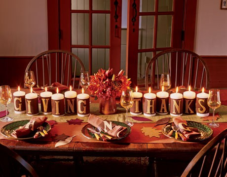 Thanksgiving decorating ideas heroes home advantage How to decorate your house for thanksgiving